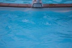 从喷泉的浪花 库存照片