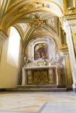 从圣徒Sabinus大教堂的绘画和镇定地方  库存图片