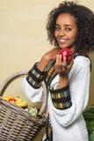 从埃赛俄比亚的妇女的微笑 库存照片