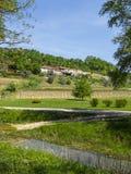 从城堡的老塔在克罗地亚 免版税库存图片