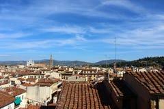 从塔的佛罗伦萨 库存图片