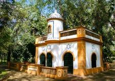 从塞维利亚的回教西班牙清真寺 图库摄影