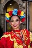 从墨西哥的微笑 免版税图库摄影