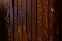 从墨西哥的木门纹理 免版税库存图片
