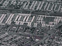 从墨西哥的鸟瞰图 免版税库存图片