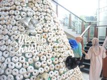 从多福饼的圣诞树 库存照片