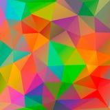 从多角形的颜色背景 向量例证