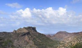 从失去的矿足迹大弯曲国家公园的全景 库存图片