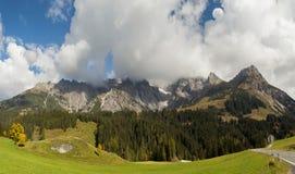 从奥地利的Hohe Konig 免版税库存照片