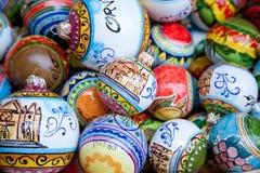 从奥尔维耶托的陶瓷球形 免版税库存图片