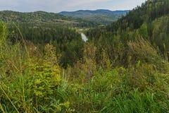 从小山的Jeb河 免版税库存照片