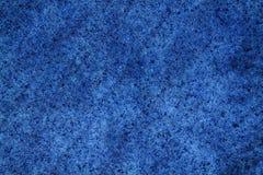 从小方形的零件的蓝色典雅的石墙 岩石纹理表面 库存图片