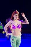 从小的美人鱼的Ariel 库存照片