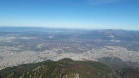 从山的视图 图库摄影