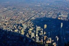 从山顶看见的城市 免版税库存照片