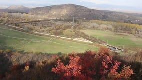 从山Kojuh的一个框架在Rupite -自然自然附近 库存图片