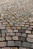 从岩石的路面 免版税库存照片