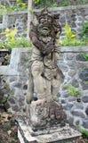 从巴厘岛,印度尼西亚的传统雕象 免版税库存图片