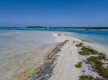 从巴哈马的照片:Exumas 免版税库存图片