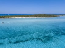 从巴哈马的照片:Exumas 库存图片