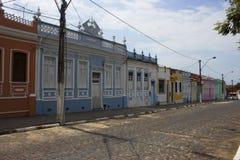 从巴西的殖民地房子 免版税库存照片