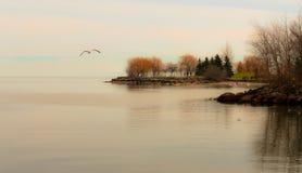 从幻想风景 秀丽土地在加拿大 免版税库存照片