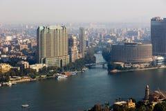 从开罗塔的尼罗河 免版税库存图片