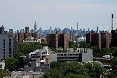 从我的意图的曼哈顿视图 图库摄影