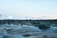 从挪威的秋天横向 免版税库存照片