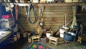 从摩尔多瓦罗马尼亚的传统烹调 库存图片