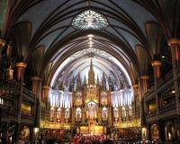 从教会里边的一个看法 免版税库存照片