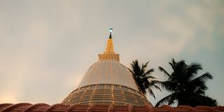 从斯里兰卡的寺庙塔 库存照片