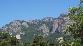 从旅行的照片,美丽的山 库存图片
