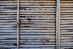 从日本,抽象背景的竹表面纹理 免版税库存照片
