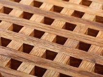 从木板条的格栅 抽象背景 免版税库存照片