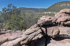 从本Lilly纪念品的西北看法,新墨西哥 免版税图库摄影