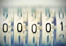 从机械记分牌的第00001 库存照片