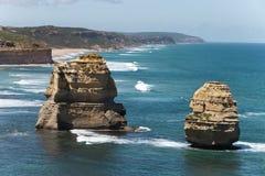 从极大的海洋路的视图 免版税库存图片