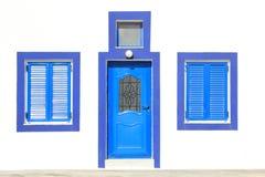 从某些的Santorini的一个图象家 免版税库存图片