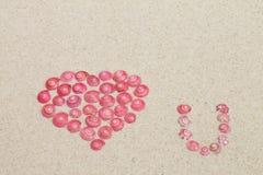 从桃红色蜗牛的重点 库存照片