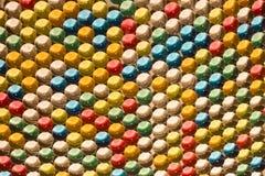 从水凝胶球的颜色背景 库存照片