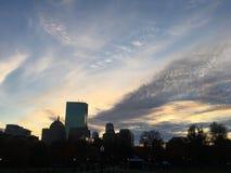 从波士顿共同性的约翰・汉考克塔 免版税库存图片