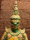 从泰国的绿色org 库存图片