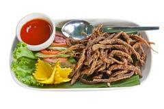 从泰国食物的火鱼 库存图片