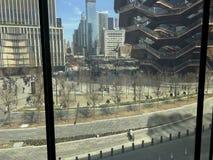 从流洒的屏幕的看法在哈德森围场 库存图片
