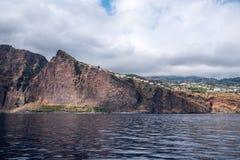 从海的Cabo Girao 免版税图库摄影