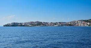 从海的Neos Marmaras 免版税库存照片