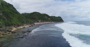 从海的Pok Tunggal 库存图片