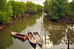 从海运的水运河 图库摄影
