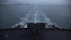 从游轮的看法向海,愉快,海洋,远航轮渡 影视素材